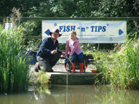 Coaching at Barlow Lakes Fishery, Peak District, Derbyshire