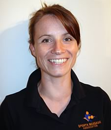 Image: Janine Sharpe, sports massage Derbyshire, based in Youlgrave.  Massages in Rowsley, Bakewell, Buxton, Matlock, Darley Dale Ashbourne Derbyshire Peak District.