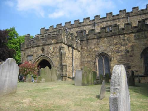 Image: Bakewell Short Walks: the Church.